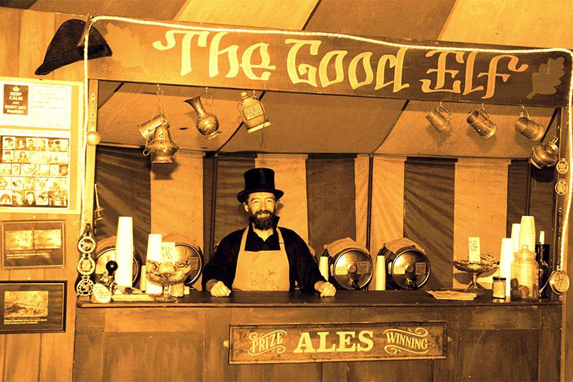 Barman at The Good Elf