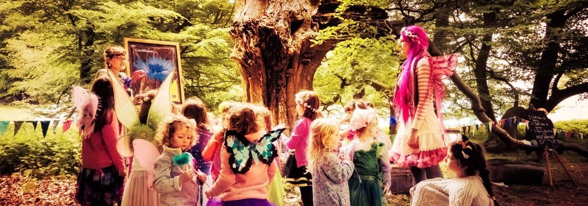 Fairy Training at Sennowe Park