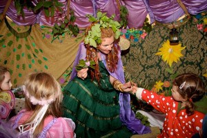 An audience with the Fairy Queen