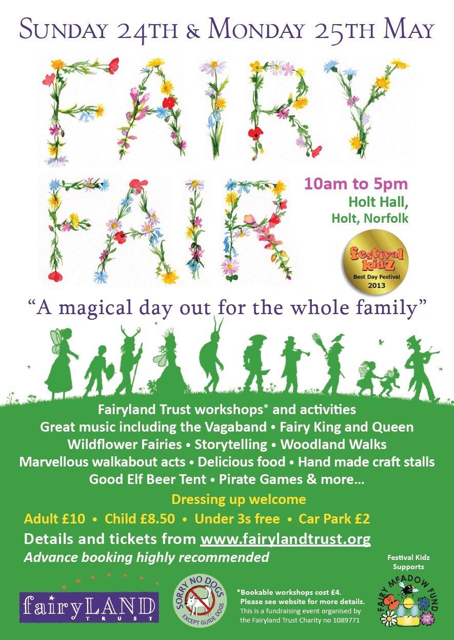 Fairy Fair 2015 poster
