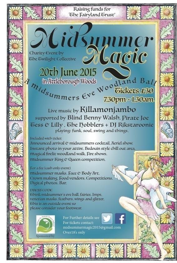 midsummer event poster