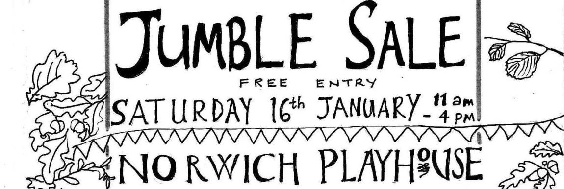 Could you help organise a Jumble Sale ? please get in touch