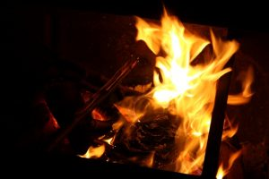 burning fire 640