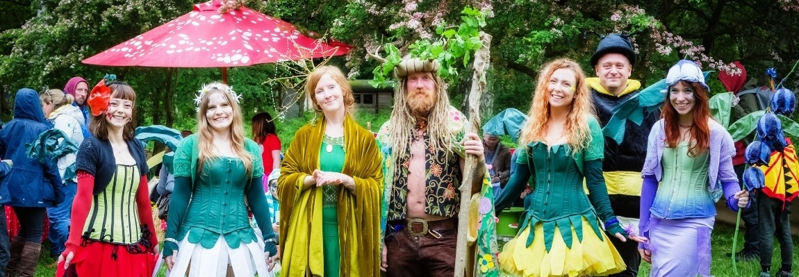 See pictures of the May Fairy Fair at our PHOTOS gallery