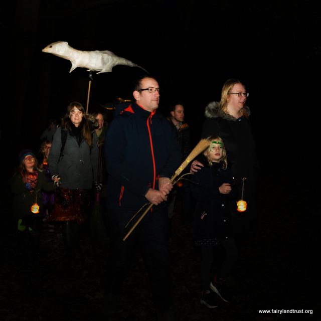 parade of animal lanterns