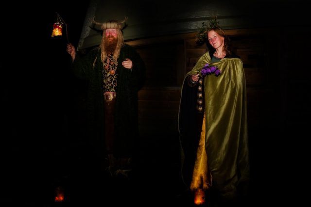 visit the fairy king and queen