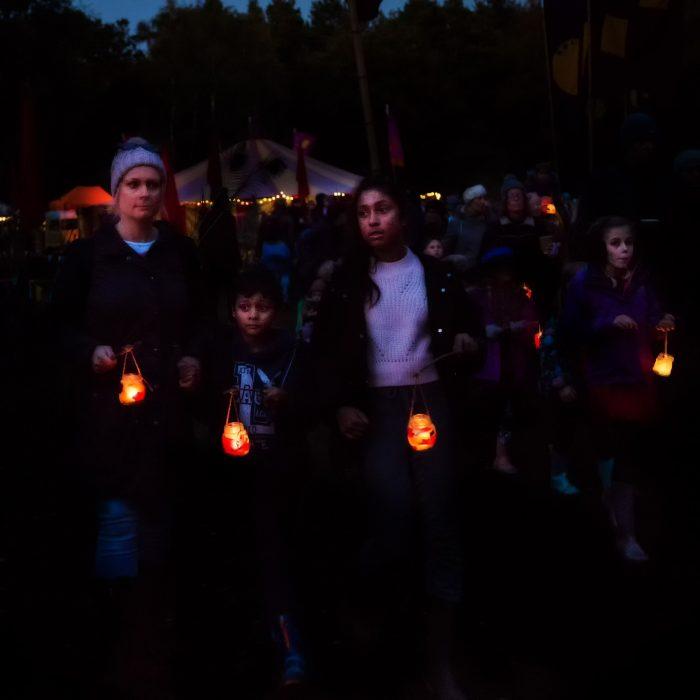 candle lit parade real halloween after dark lanterns